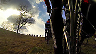 Dan Henry rides a custom built Lynskey Pro+Cross during 55Nine's Southern Cross endurance cyclocross race in Dahlonega, Georgia, on February 16, 2013. Photo shot by Dan Henry (gopro)  / BiciPhoto.com