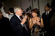 GEOFFREY ROBERTSON; KATHY LETTE, Book party; Jessica Adams, Maggie Alderson, Imogen Edwards-Jones and Kathy Lette host the launch of 'In Bed With.' Artesian, The Langham, Portland Place. London. 11 February 2009 *** Local Caption *** -DO NOT ARCHIVE-© Copyright Photograph by Dafydd Jones. 248 Clapham Rd. London SW9 0PZ. Tel 0207 820 0771. www.dafjones.com.<br /> GEOFFREY ROBERTSON; KATHY LETTE, Book party; Jessica Adams, Maggie Alderson, Imogen Edwards-Jones and Kathy Lette host the launch of 'In Bed With.' Artesian, The Langham, Portland Place. London. 11 February 2009