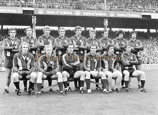 All Ireland Senior Football Championship Final, Dublin v Kerry, 24.09.1978, 09.24.1978, 24th September 1978, 24091978AISFCF, Kerry 5-11 Dublin 0-09,.Dublin, P Cullen, G O'Driscoll, S Doherty, R Kelleher, T Drumm, K Moran, P O'Neill, B Mullins, B Brogan, A O'Toole, A Hanahoe (capt), D Hickey, B Doyle, J Keaveney, J McCarthy, .