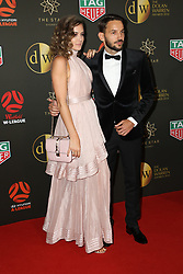 Players from the Westfield W-League and Hyundai A-League arrive on the red carpet for the 2018 Dolan Warren Awards at The Star Event Centre - 80 Pyrmont St, Pyrmont, NSW. 30 Apr 2018 Pictured: Dejana Ninkovic. Photo credit: Richard Milnes / MEGA TheMegaAgency.com +1 888 505 6342