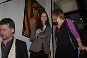 Bettina von Hase. Dinner at San Lorenzo, Beauchamp Place after Tod's hosts Book signing with Dante Ferretti celebrating the launch of 'Ferretti,- The art of production design' by Dante Ferretti. 19 April 2005.  ONE TIME USE ONLY - DO NOT ARCHIVE  © Copyright Photograph by Dafydd Jones 66 Stockwell Park Rd. London SW9 0DA Tel 020 7733 0108 www.dafjones.com