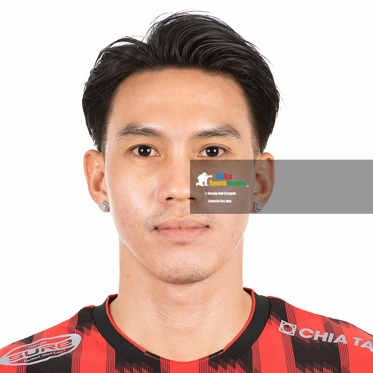 THAILAND - MARCH 06: Teeratep Winothai #14 of True Bangkok United on March 06, 2019.<br /> .<br /> .<br /> .<br /> (Photo by: Naratip Golf Srisupab/SEALs Sports Images/MB Media Solutions)