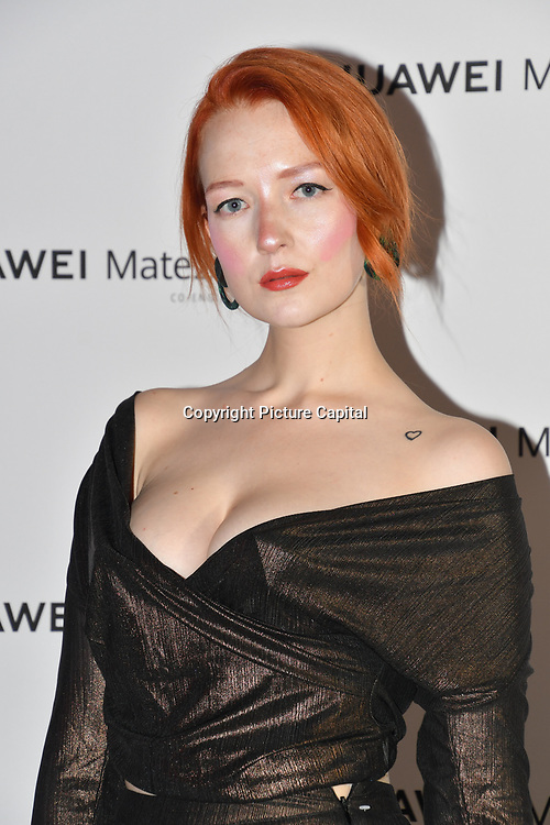 Victoria Clay attend Huawei - VIP celebration at One Marylebone London, UK. 16 October 2018.