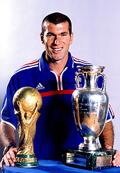 Nov 15, 2002; Paris, FRANCE; French soccer star ZINEDINE ZIDANE, currently playing for Real Madrid and captain of the French National soccer team.  (Credit Image: © Bibard/Panoramic/ZUMAPRESS.com)