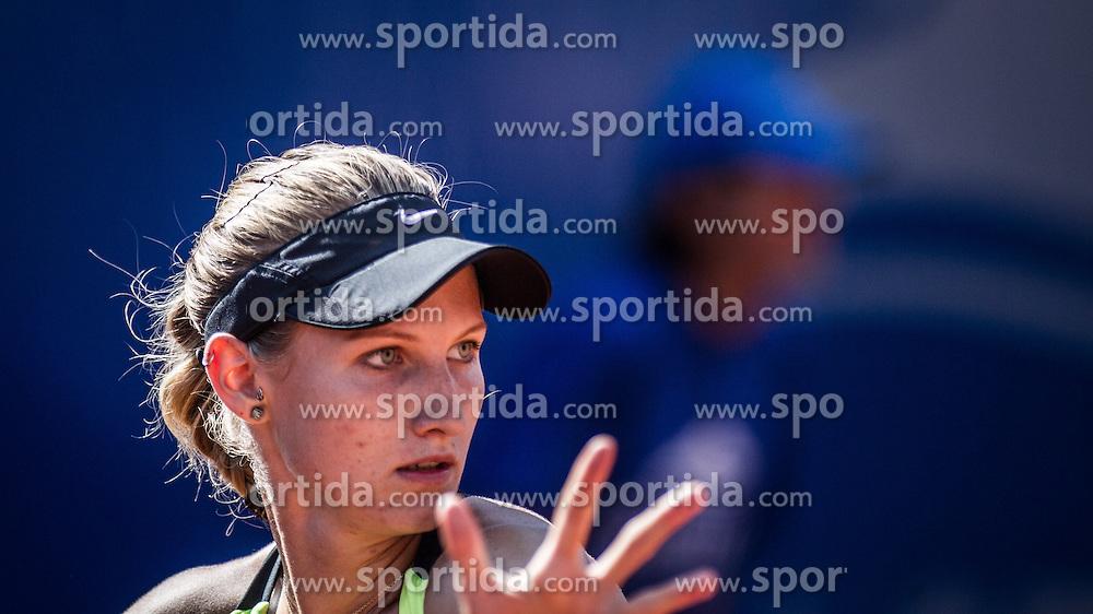 17.07.2013, Hotel Europaeischer Hof, Bad Gastein, AUT, WTA Tour, Nuernberger Gastein Ladies 2013, im Bild Lisa-Maria Moser (AUT) // during Nuernberger Gastein ladies tennis tournament of the WTA Tour at the Hotel 'Europaeischer Hof' in Bad Gastein, Austria on 2013/07/17. EXPA Pictures © 2013, PhotoCredit: EXPA/ Juergen Feichter