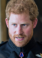 Prince Harry At Beating Retreat