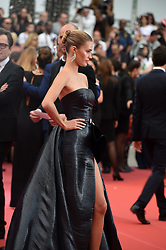 May 22, 2019 - Cannes, France - 72eme Festival International du Film de Cannes. Montée des marches du film ''Roubaix, une lumiere (Oh Mercy!)''. 72th International Cannes Film Festival. Red Carpet for ''Roubaix, une lumiere (Oh Merci!)'' movie.....239728 2019-05-22  Cannes France.. Wertmuller, Lina; Berry Capri, Noel (Credit Image: © L.Urman/Starface via ZUMA Press)