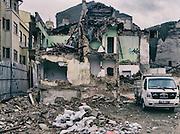 17/10/2013 - Turkey - Istanbul - Tarlabasi area - Backyards are often use as a dump.