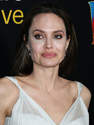 Actress Angelina Jolie arrives at the World Premiere Of Disney's 'Dumbo' held at The Ray Dolby Ballroom and El Capitan Theatre on March 11, 2019 in Hollywood, Los Angeles, California, United States. 11 Mar 2019 Pictured: Angelina Jolie. Photo credit: Xavier Collin/Image Press Agency / MEGA TheMegaAgency.com +1 888 505 6342