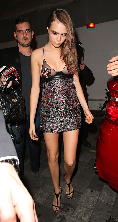Cara Delevingne atttends the British Fashion Awards After Party at Cafe Royal in London, UK. 01/12/2014<br />BYLINE MUST READ : JAMESY/GOTCHA IMAGES<br /><br />Copyright by &copy; Gotcha Images Ltd. All rights reserved.<br />Usage of this image is conditional upon the acceptance <br />of Gotcha Images Ltd, terms and conditions available at<br />www.gotchaimages.com