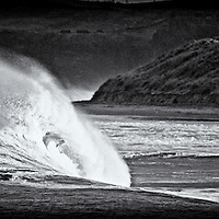 curran strand portrush, one guy going for a walk, no one out….. Dec 2013.