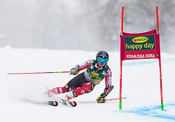 Trevor Philp of Canada during 1st run of Men's Giant Slalom race of FIS Alpine Ski World Cup 57th Vitranc Cup 2018, on 3.3.2018 in Podkoren, Kranjska gora, Slovenia. Photo by Urban Meglič / Sportida