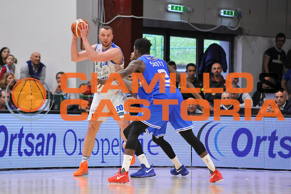 Dusko Savanovic<br /> Banco di Sardegna Dinamo Sassari - Enel New Basket Brindisi<br /> LegaBasket Serie A LBA Poste Mobile 2016/2017<br /> Sassari 02/04/2017<br /> Foto Ciamillo-Castoria