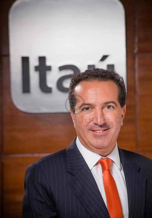 Derek Sassoon, Gerente División Tesorería Banco Itaú. Santiago de Chile. 26-03-2014 (Alvaro de la Fuente/Triple.cl)