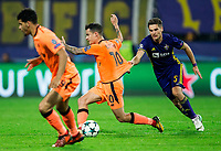 MARIBOR, SLOVENIA - OCTOBER 17: Philippe Coutinho of Liverpool FC faulted by Blaz Vrhovec of NK Maribor during UEFA Champions League 2017/18 group E match between NK Maribor and Liverpool FC at Stadium Ljudski vrt, on October 17, 2017 in Maribor, Slovenia. (Photo by Vid Ponikvar / Sportida)