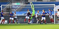Fotball Menn Eliteserien Rosenborg-Vålerenga<br /> Lerkendal Stadion,Trondheim<br /> 1 juli 2020<br /> <br /> Rosenborgs keeper Andre Hansen rydder opp <br /> <br /> <br /> Foto : Arve Johnsen, Digitalsport