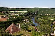 Saint cirq la popie ,one of the most beautiful village in France , Lot department,  /  le village de Saint Cirq la popie dans le Lot, france