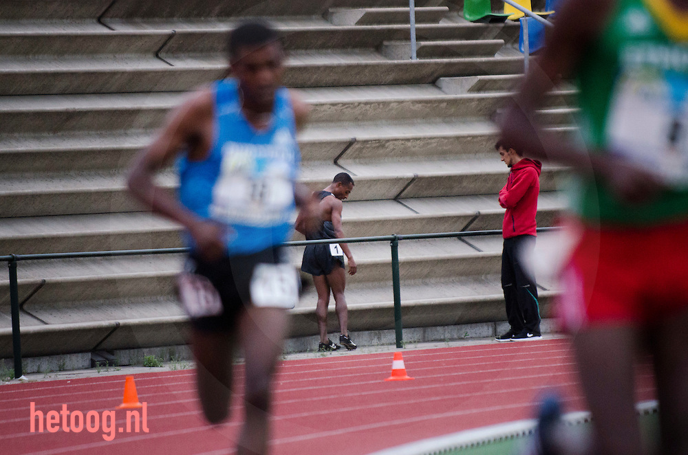 nederland,netherlands Hengelo 29 june 10K running 10.000 meters athletics Demelash (nr 5)  wins  news world leading time 26:51:11 Kenenisa Bekele (nr 1) tried to qualify for the 4th time in a row for the olympics but failed living legend Bekele hold world record 5 and 10 K