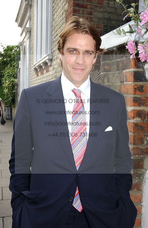 BEN ELLIOT at Sir David & Lady Carina Frost's annual summer party held in Carlyle Square, Chelsea, London on 5th July 2006.<br />