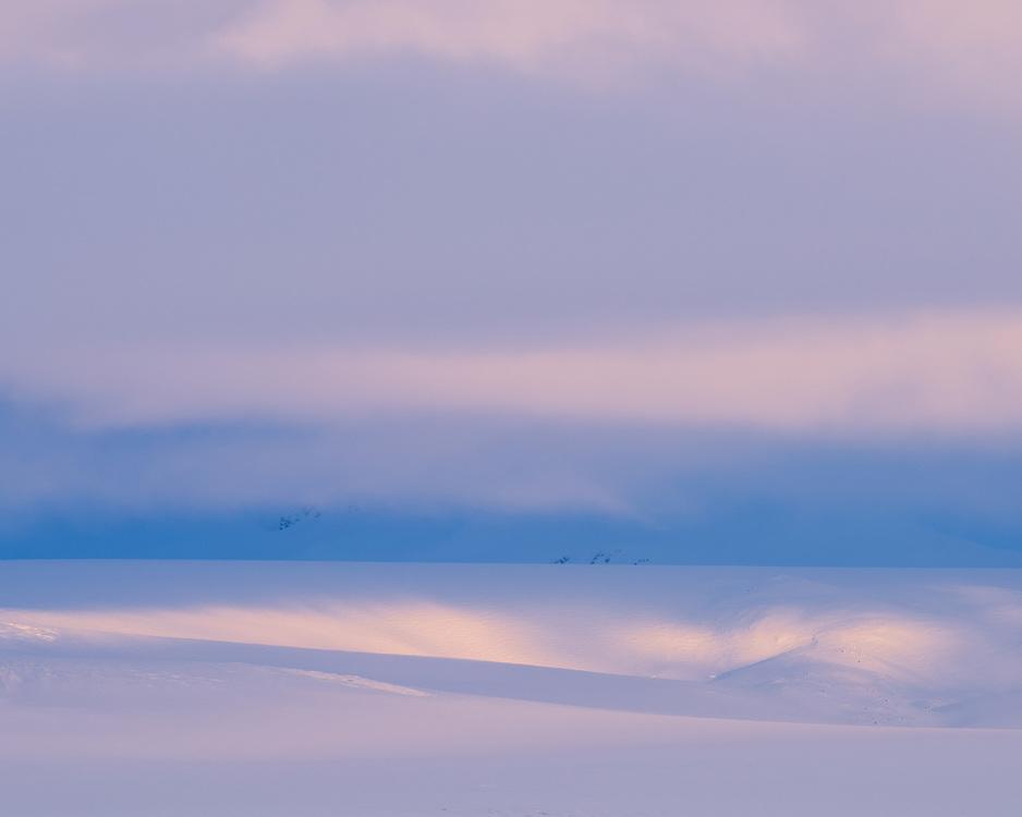 Mountains at the edge of Vatnajokull, Iceland