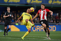 January 20, 2019 - Villarreal, Castellon, Spain - Carlos Bacca of Villarreal and Oscar de Marcos of Athletic Club de Bilbao during the La Liga Santander match between Villarreal and Athletic Club de Bilbao at La Ceramica Stadium on Jenuary 20, 2019 in Vila-real, Spain. (Credit Image: © Maria Jose Segovia/NurPhoto via ZUMA Press)