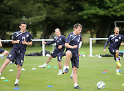New boys Paul McGinn and Paul McGowan - Dundee FC first day back<br />  - &copy; David Young<br /> <br />  - www.davidyoungphoto.co.uk - email: davidyoungphoto@gmail.com