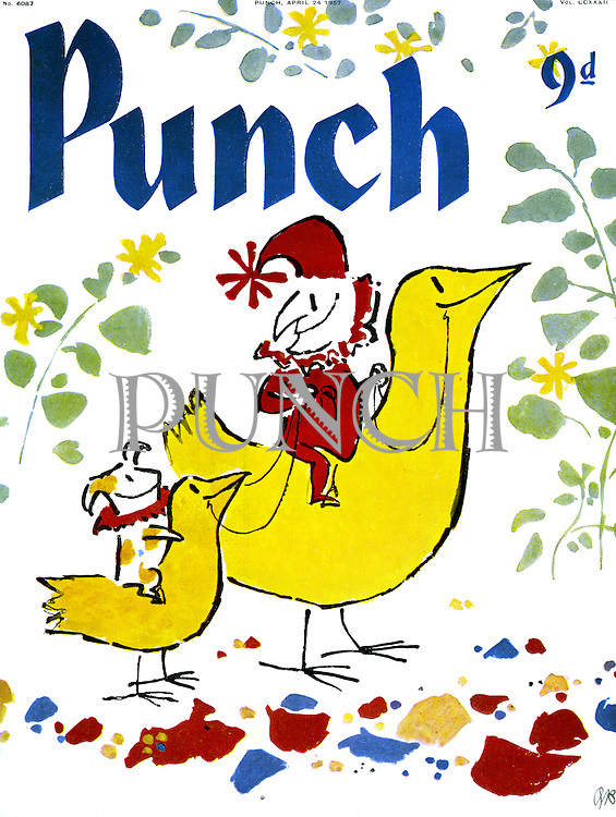 Punch cover 24 April 1957