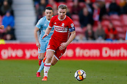 Middlesbrough midfielder Grant Leadbitter (7) in action  during the The FA Cup 3rd round match between Middlesbrough and Sunderland at the Riverside Stadium, Middlesbrough, England on 6 January 2018. Photo by Simon Davies.