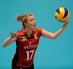 10-08-2014 NED: FIVB Grand Prix Belgie - Puerto Rico, Doetinchem<br /> Ilka Van De Vijver