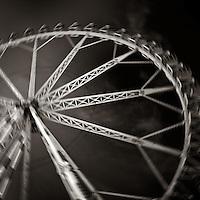 A big wheel turning