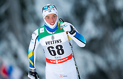 30.11.2014, Nordic Arena, Ruka, FIN, FIS Weltcup Langlauf, Kuusamo, 15 km Herren, im Bild Calle Halfvarsson (SWE) // Calle Halfvarsson of Sweden during Mens 15 km Cross Country Race of FIS Nordic Combined World Cup at the Nordic Arena in Ruka, Finland on 2014/11/30. EXPA Pictures © 2014, PhotoCredit: EXPA/ JFK