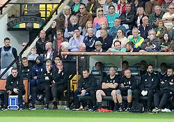 Birmingham City' manager Harry Redknapp [second left]