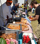 The Viva La Local Food Festival promotes local foods, Tucson, Arizona, USA.