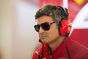 April 17, 2014 - Shanghai, China. UBS Chinese Formula One Grand Prix. Matteo Mattiacci, Ferrari team principal<br /> <br /> © Jamey Price / James Moy Photography
