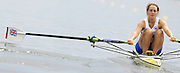 2006, U23 Rowing Championships,Hazewinkel, BELGIUM Saturday, 22.07.2006. GBR BLW1X, Sophie HOSKING,  Photo  Peter Spurrier/Intersport Images email images@intersport-images.com..[Mandatory Credit Peter Spurrier/ Intersport Images] Rowing Course, Bloso, Hazewinkel. BELGUIM