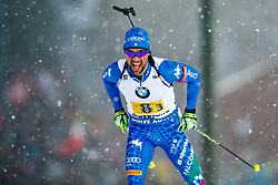March 16, 2019 - –Stersund, Sweden - 190316 Thomas Bormolini of Italy competes in the Men's 4x7,5 km Relay during the IBU World Championships Biathlon on March 16, 2019 in Östersund..Photo: Johan Axelsson / BILDBYRÃ…N / Cop 245 (Credit Image: © Johan Axelsson/Bildbyran via ZUMA Press)