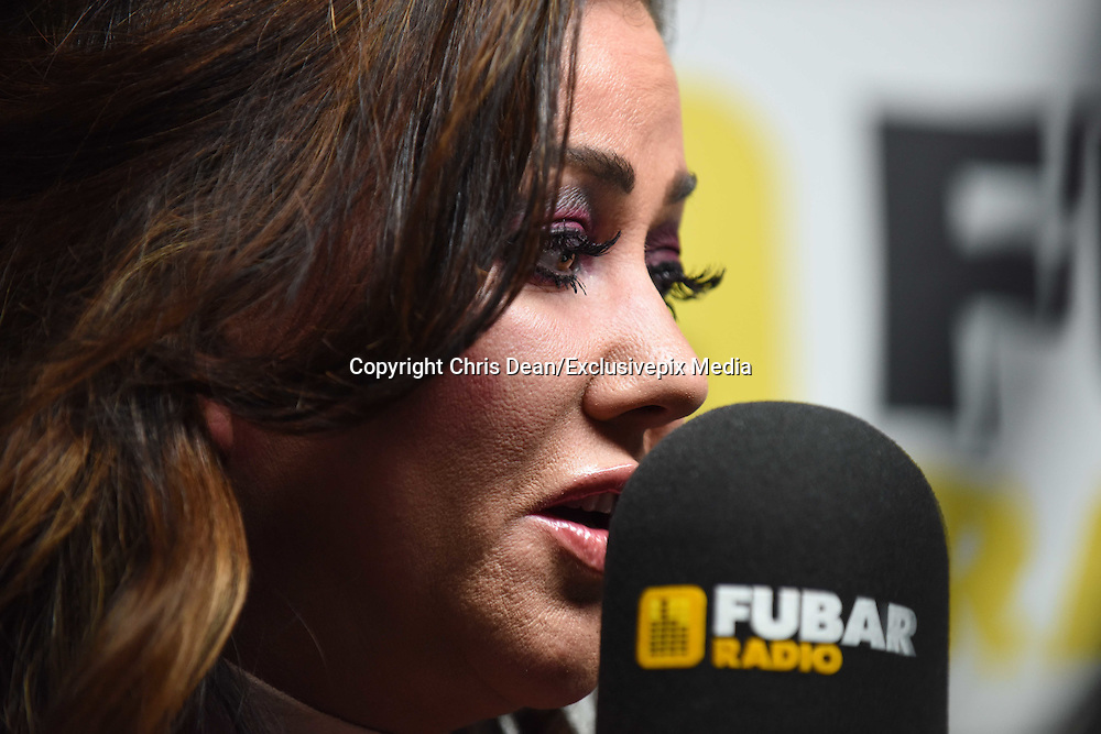 EXCLUSIVE<br /> Lisa Appleton and Lizzie Cundy at Fubar Radio<br /> &copy;Chris Dean/Exclusivepix Media