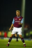 Fotball, 16. september 2002. FA Barclaycard premiership,  Birmingham - Aston Villa 3-0. Marcus Allbäck, Aston Villa.
