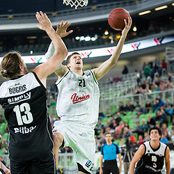 20151209: SLO, Basketball - EuroCup 2015/16, KK Union Olimpija vs Bilbao Basket