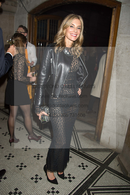 KIM HERSOV at the Veuve Clicquot Widow Series launch party hosted by Nick Knight and Jo Thornton MD Moet Hennessy UK held at The College, Central St.Martins, 12-42 Southampton Row, London on 29th October 2015.