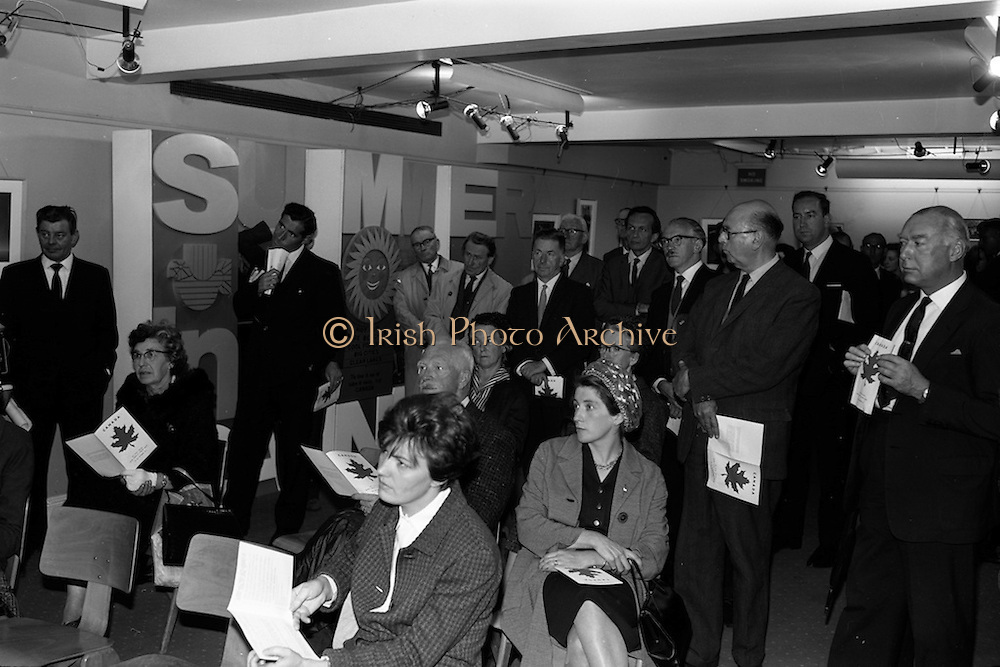 8/9/1964<br /> 9/8/1964<br /> 8 September 1964<br /> <br /> Picture shows some of the attendance to the exhibition