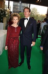 LILY SAFRA and TIM JEFFERIES at the NSPCC's Dream Auction held at The Royal Albert Hall, London on 9th May 2006.<br /><br />NON EXCLUSIVE - WORLD RIGHTS