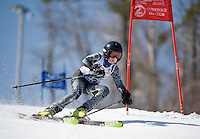 Francis Piche Invitational j4 1st run boys at Gunstock March 19, 2010....