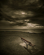 Bench, Black Head Reserve, Gerroa, NSW, Australia