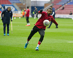 Bristol City warm up - Mandatory by-line: Jack Phillips/JMP - 11/01/2020 - FOOTBALL - DW Stadium - Wigan, England - Wigan Athletic v Bristol City - English Football League Championship