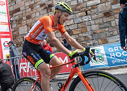 10.07.2019, Radstadt, AUT, Ö-Tour, Österreich Radrundfahrt, 4. Etappe, von Radstadt nach Fuscher Törl (103,5 km), im Bild Sebastian Schönberger (AUT, Neri Sottoli - Selle Italia - KTM) // Sebastian Schönberger of Austria (Neri Sottoli - Selle Italia - KTM) during 4th stage from Radstadt to Fuscher Törl (103,5 km) of the 2019 Tour of Austria. Radstadt, Austria on 2019/07/10. EXPA Pictures © 2019, PhotoCredit: EXPA/ Reinhard Eisenbauer