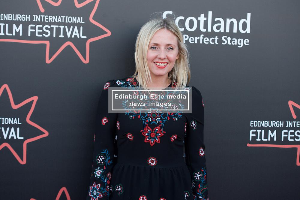 "Sinead Matthews, on the red carpet during the Edinburgh International Film Festival UK Premier of ""KALEIDESCOPE"" at Cineworld, Saturday 24th June 2017(c) Brian Anderson   Edinburgh Elite media"