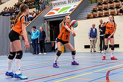 31-03-2018 NED: Finale D Volleybaldirect Open, Beverwijk<br /> 16 teams van meisjes en jongens D streden om het Nederlands Kampioenschap / Orion