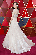 90th Oscars Red Carpet Arrivals