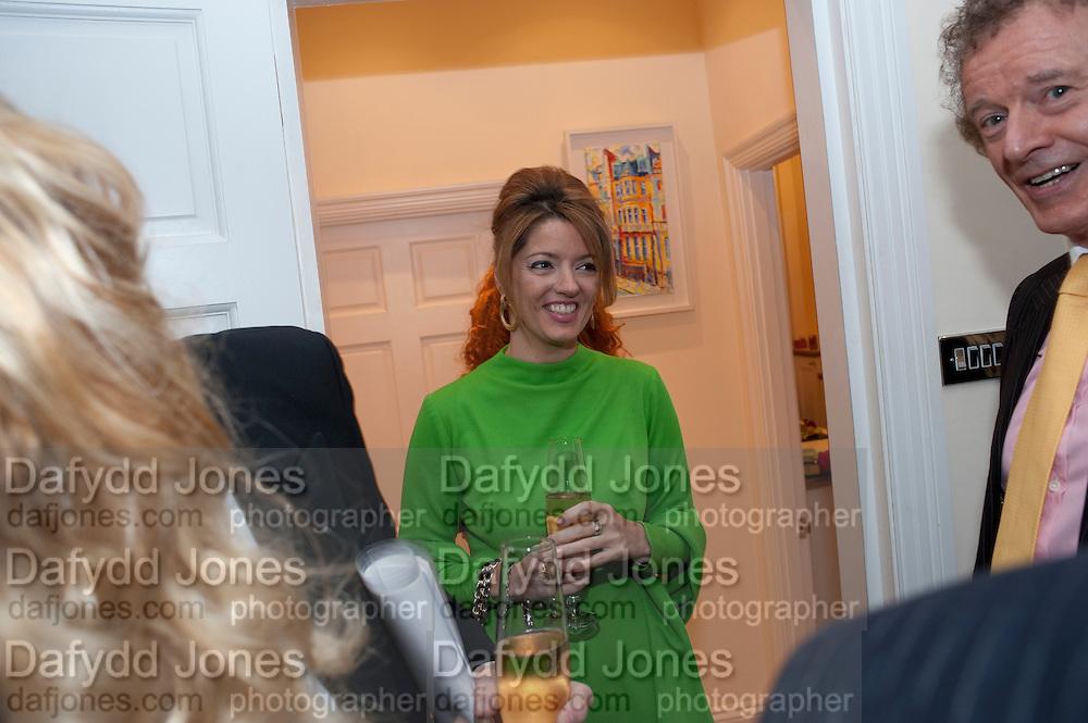 PETRONELLA WYATT, Mrs. Richard Briggs at home.  Sloane Gardens. London. 20 October 2011. <br /> <br />  , -DO NOT ARCHIVE-© Copyright Photograph by Dafydd Jones. 248 Clapham Rd. London SW9 0PZ. Tel 0207 820 0771. www.dafjones.com.